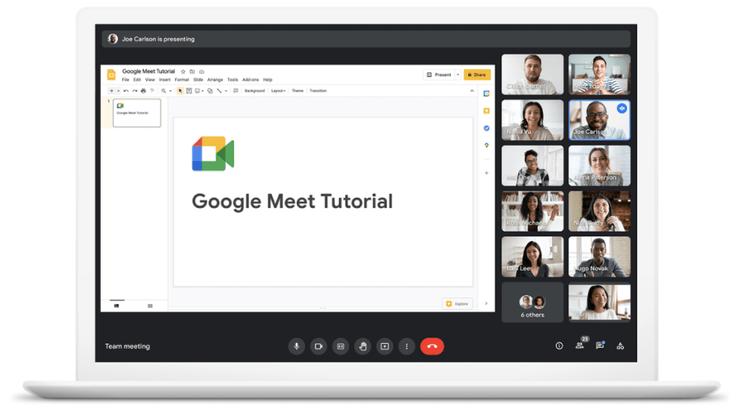New things in Google Meet