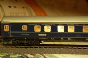 Märklin 7077 vognbelysning