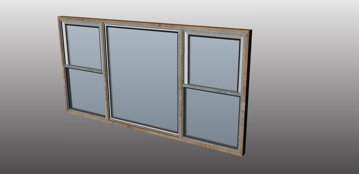 DH 24inch window component