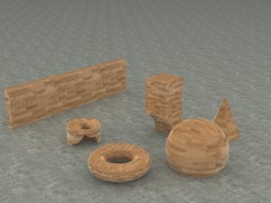 ex208 objects render