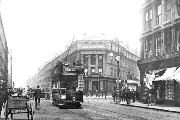 St_George_s_Cross_Maryhill_Early_1900_s