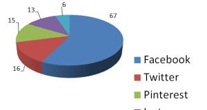 statistiche social network media % utenti internet