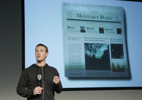 mark zuckerberg news feed bacheca facebook