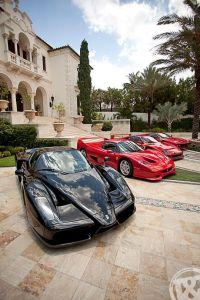 Muss noch ein bisschen warten: Die Villa in Florida (nebst Ferraris)