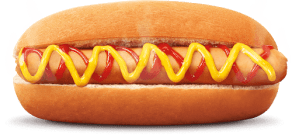 A second picture of a hotdog