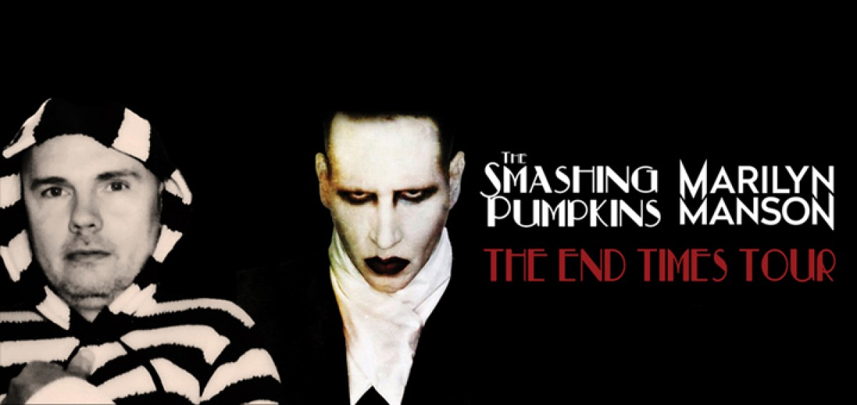 The Smashing Pumpkins Marilyn Manson