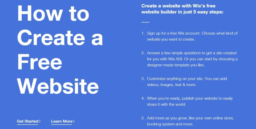 Wix.com: Create a Free Website With Wix's Free Website Builder