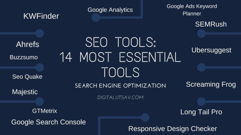 SEO Tools: 14 Most Essential Tools
