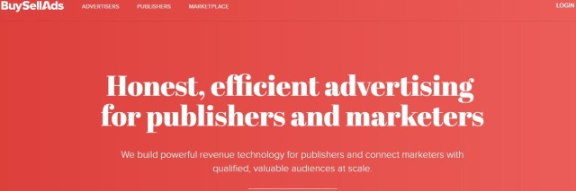 Buy Sell Ads: How to make money with your blog