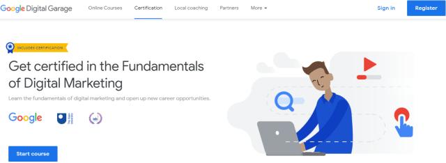 Fundamentals of digital marketing - Google digital garage