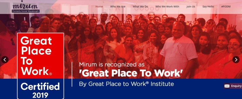 Mirum India: 11 Top Digital Marketing Agencies In India