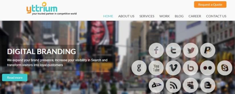 Yttrium: Digital Marketing Agency