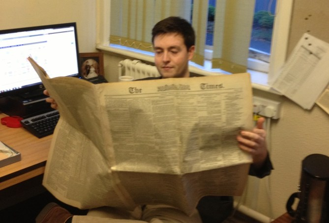 Reading The Times