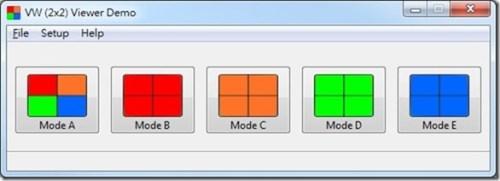 SVX-4096 mode select