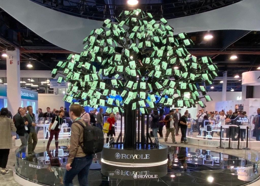 OLED tree