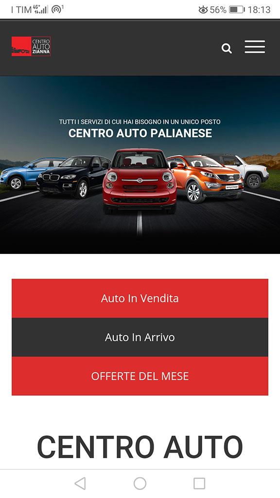 sito responsive per concesisonarie auto