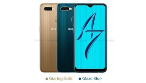 Oppo A7 Leak Colors