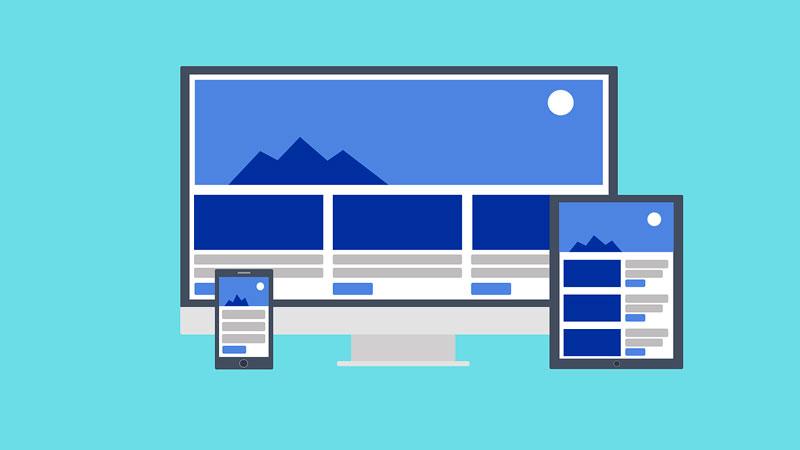 responsive website illustration