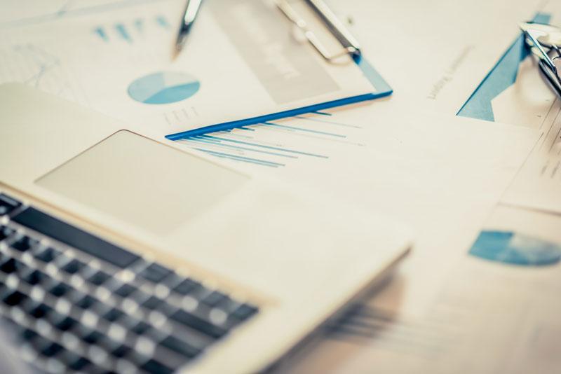 analytics and charts