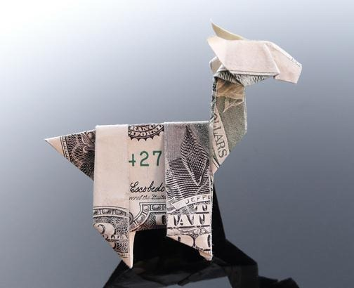 Money Origami Photos | 410x504