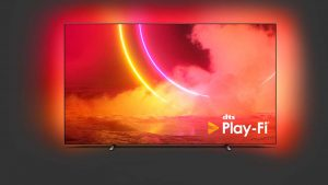 Philips OLED805 mit DTS Play-Fi.
