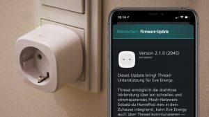 Firmware-Update für Eve Energy