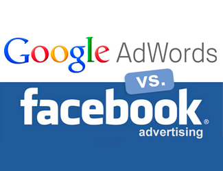 Facebook Vs Adwords advertising