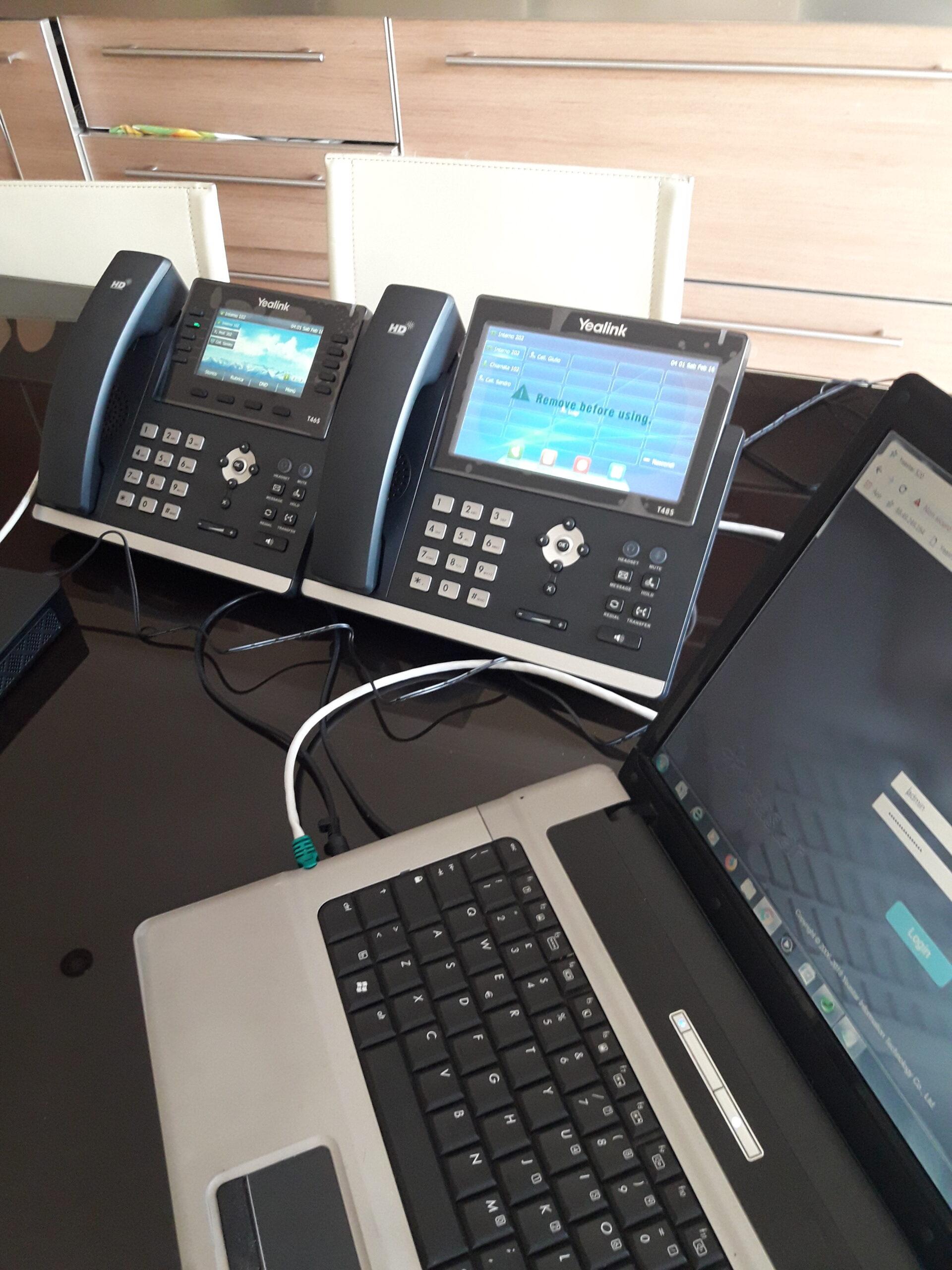 Pre-configurazioni telefoni Yealink per smartworking