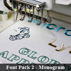 Download Font Pack 2 - Monogram