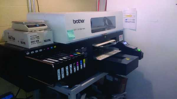 BROTHER GT381 White Ink Printer