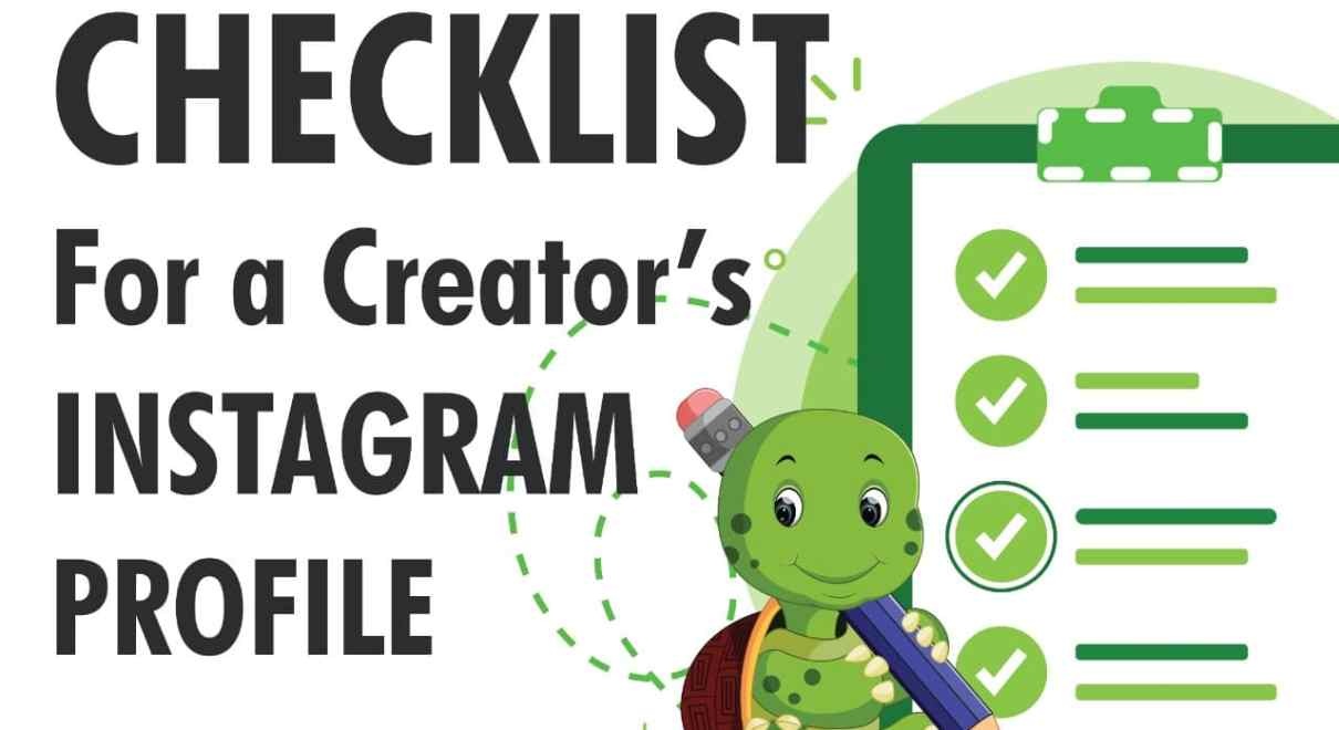 Checklist For Instagram Creator Account