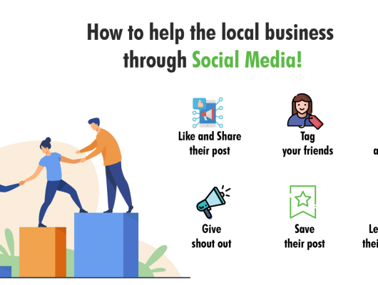 how you can help your friend local business