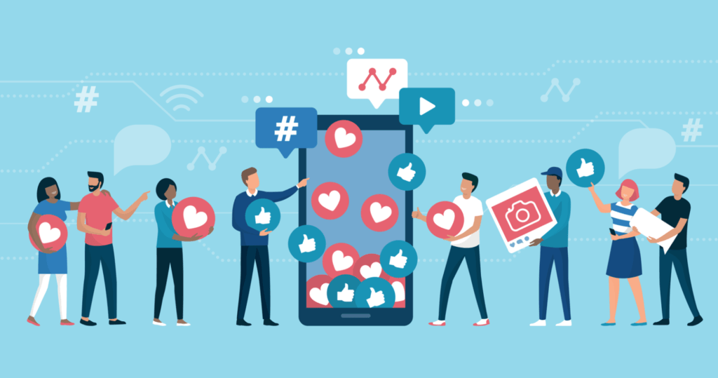 Social Media Marketing helps with engagement hence creaating a loyal audience.
