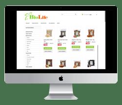 Biolife SEO ja digitaalse turunduse tegemine