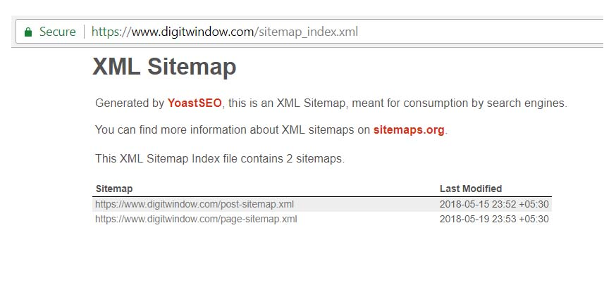 yoast seo sitemap how to generate submit xml to google