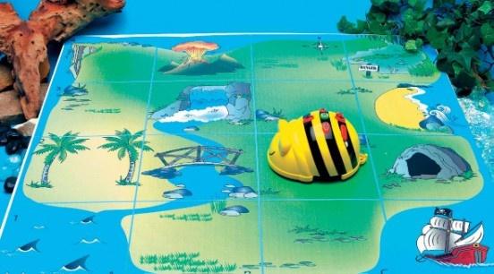 Schatkaart Bee-bot