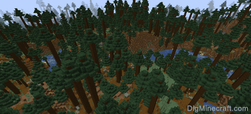 Many undead and pillagers united to battle the villager settlers, but steve, blue demon and bbq sauce interfered. Giant Tree Taiga Hills In Minecraft