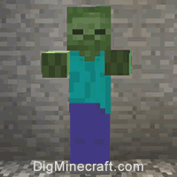 How To Summon A Zombie In Minecraft