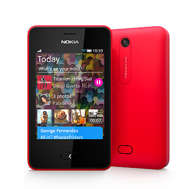 Newly launched Asha 501 feature smartphones