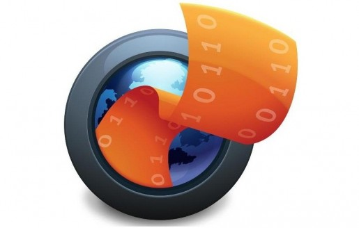 Firefox flicks logo