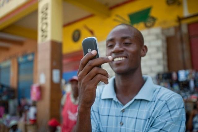 using mobile money