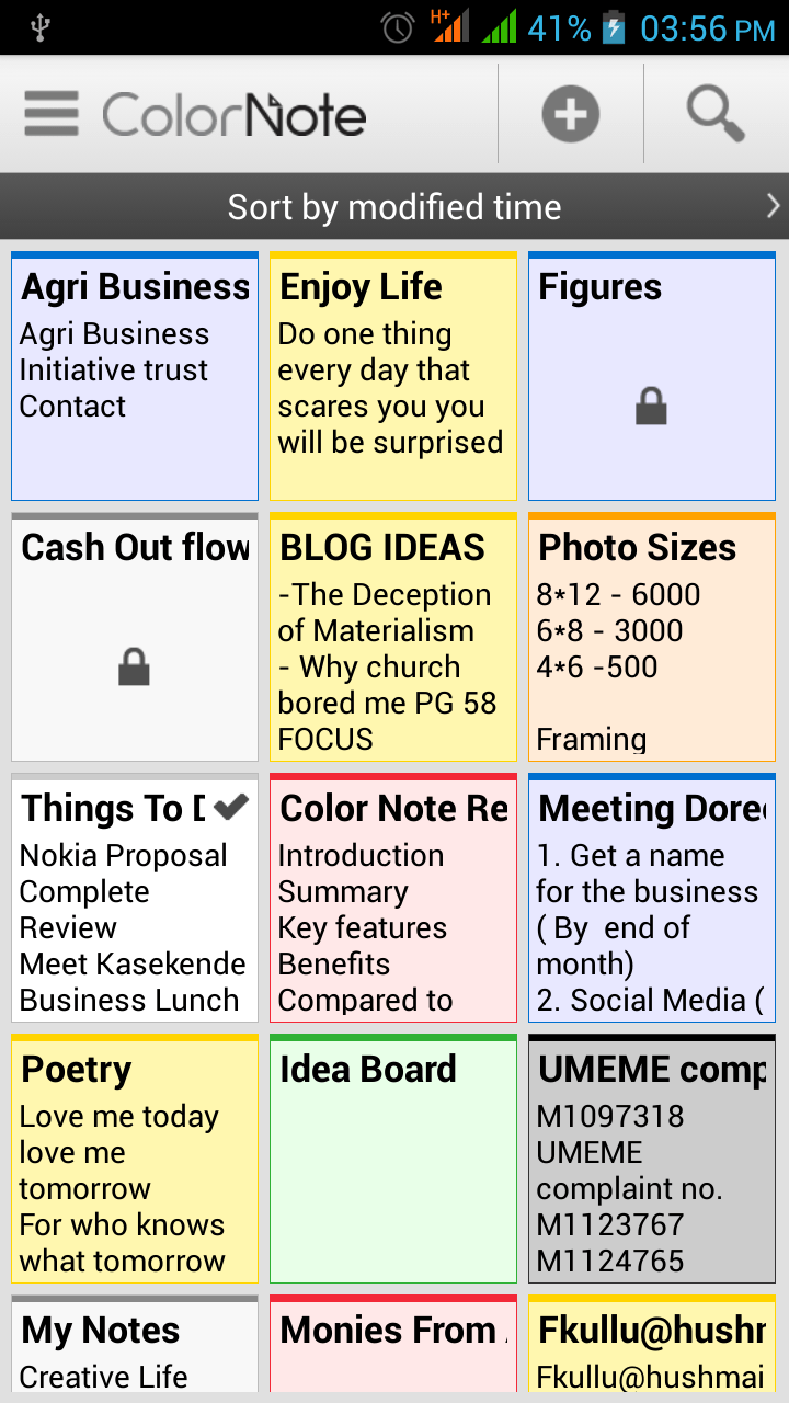 ColorNote App Review: An App that makes taking notes simple