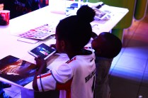 A Little Girl And Her Brother Test How Good Their Favorite Games Are On The Samsung Tabs
