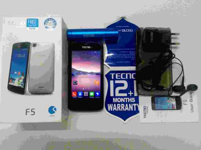 A first look at the Tecno F5: New features, Price and