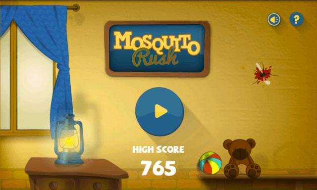 mosquito rush, game from kola studios