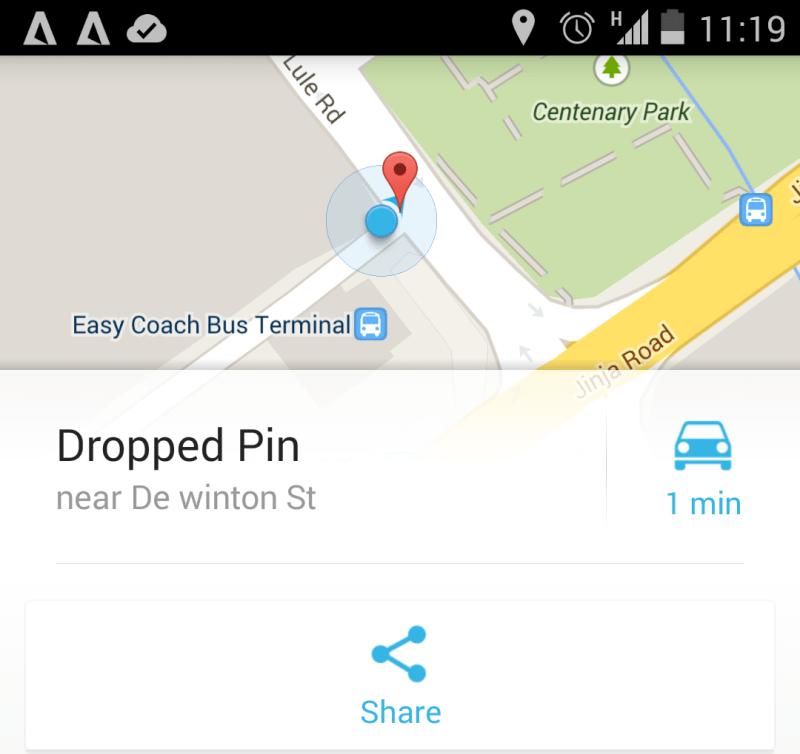google maps handler startimes