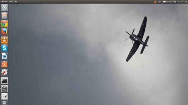 Ubuntu 14.04 LTS desktop screenshot