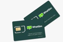 whatsapp simcard