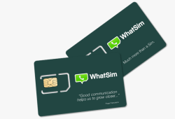 whatsapp simcard