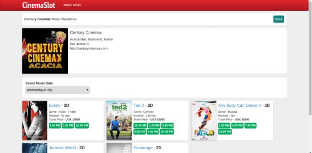cinemaslot movie uganda website